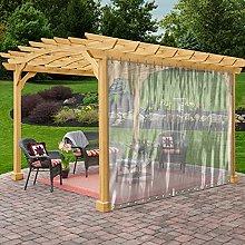 Outdoor Clear Tarp Curtain Waterproof - Weather