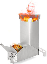 Outdoor Collapsible Wood Burning Stainless Steel
