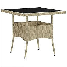 Outdoor Dining Table Home Garden Patio Dining Side