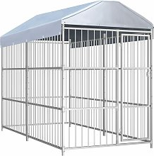 Outdoor Dog Kennel with Roof 300x150x200 cm -