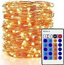 Outdoor Fairy Lights 99ft 300 LEDs,LED Copper
