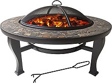 Outdoor Fire Pit, Outdoor Indoor Barbecue Table