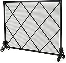 Outdoor Fireplace Screen, Fire for Wood Burner