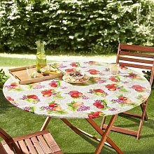 Outdoor Fitted Tablecloth Round by Coopers of