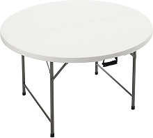 Outdoor Folding Portable Camping Round Table BBQ