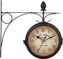 Outdoor Garden Clock Weatherproof with External