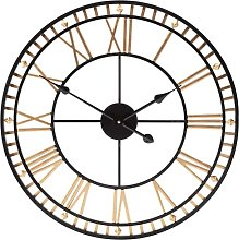 Outdoor Garden Wall Clock Large Weatherproof with