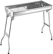Outdoor Grill Stainless Steel Charcoal Portable