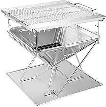 Outdoor Household Barbecue Grill Rack Stainless