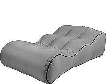 Outdoor inflatable sofa air mattress single