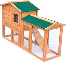 Outdoor Large Rabbit Hutch Small Animal House Pet