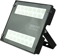 Outdoor LED Flood Lighting, 6500K Super Bright