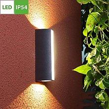 Outdoor LED Wall Light, Wall Mounted Bulkhead