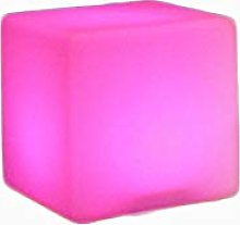 Outdoor Oversized Cube Chair Light Mood Lamp