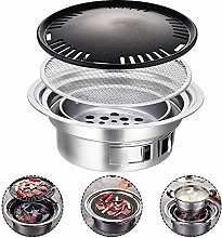 Outdoor Picnic Charcoal Grill, Portable Charcoal