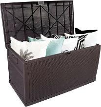 Outdoor Plastic Storage Box, Garden 120gal 460L