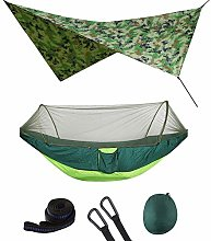 Outdoor Pop-Up Netting Hammock Tent With