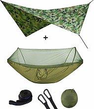 Outdoor Pop-Up Netting Hammock Tent With