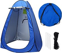 Outdoor Popup Tent Portable Camping Instant Toilet