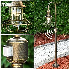 Outdoor Post Lamp with Motion Sensor for a Secure