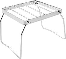 Outdoor Pot Rack Stainless Steel Grill Camping