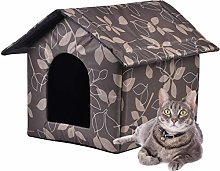 Outdoor Puppy Cat House Shelter Waterproof Cat