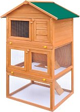 Outdoor Rabbit Hutch Small Animal House Pet Cage 3