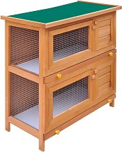 Outdoor Rabbit Hutch Small Animal House Pet Cage 4