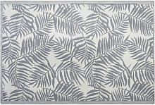 Outdoor Reversible Area Rug 120 x 180 cm Palm Leaf