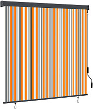 Outdoor Roller Blind 170x250 cm Yellow and