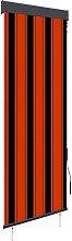 Outdoor Roller Blind 60x250 cm Orange and