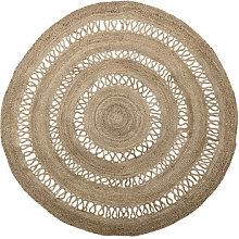 Outdoor rug - / Jute - Ø 180 cm by Bloomingville