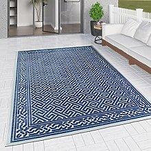 Outdoor Rug Navy Blue for Decking Garden Patios
