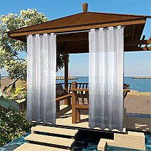 Outdoor Sheer Curtain for Patio,Sheer Curtains