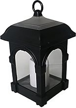 Outdoor Solar Candle Light, Courtyard Hanging Lamp