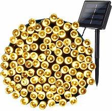 Outdoor Solar Fairy Lights, 22M 200 LED Waterproof