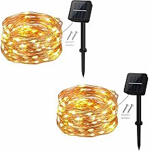 Outdoor Solar Fairy Lights 5 m 50 LED Outdoor