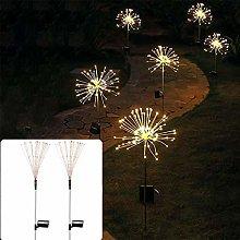 Outdoor Solar Firework Garden Lights 2 Packs, 150