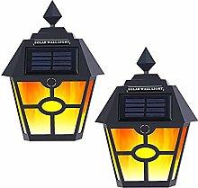 Outdoor Solar Light, 28led Solar Flashing Flame