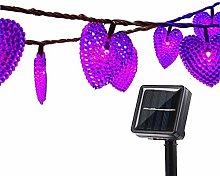 Outdoor Solar String Lights,KINGCOO 20Feet 30 Led