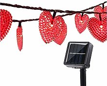 Outdoor Solar String Lights,KINGCOO 20ft 30 LED