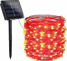 Outdoor Solar String Lights,KINGCOO Waterproof