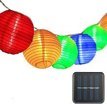 Outdoor Solar String Lights Lanterns, Fairy Lights
