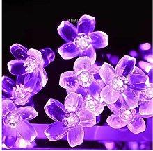 Outdoor Solar String Lights Waterproof Flower