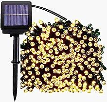 Outdoor Solar String Lights, Waterproof Solar