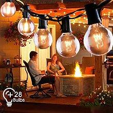 Outdoor String Lights FOCHEA 31ft G40 Outdoor