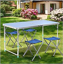 Outdoor table and chair set Aluminum alloy