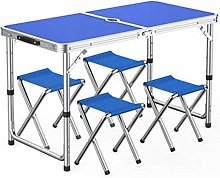 Outdoor table and chair set Outdoor aluminum alloy