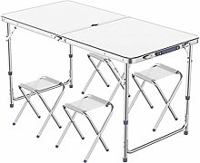 Outdoor table and chair set Outdoor camping