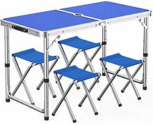 Outdoor table and chair set Outdoor folding table